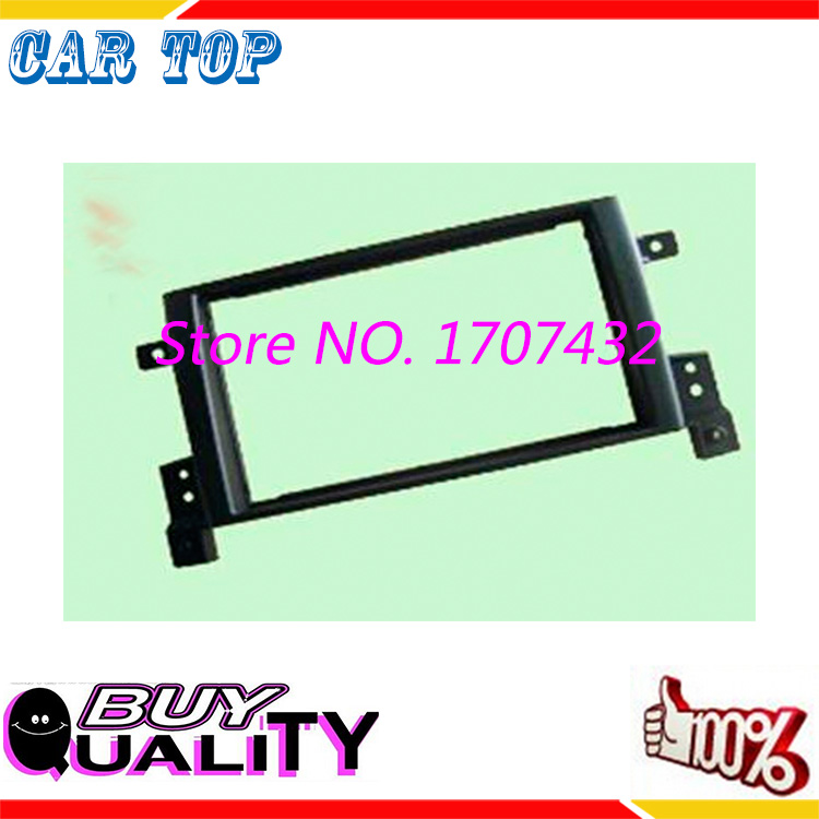 new Car refitting DVD frame,DVD panel,Dash Kit,Fascia,Radio Frame,Audio frame 05-up SUZUKI GRAND VITARA,2DIN
