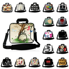 Buy Neoprene Laptop Bag 15.6 Computer Messenger Bags 10 11.6 12 13.3 14 15 17 17.3 inch Shoulder Laptop Bag Handle Protective Case for $17.11 in AliExpress store