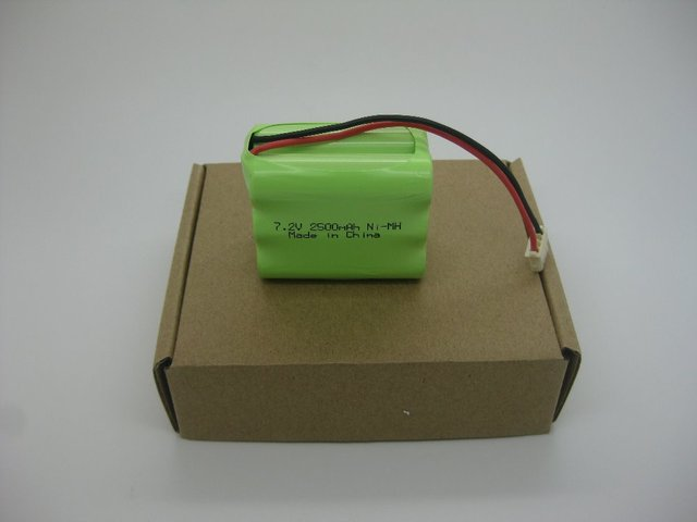 Brand new 7.2V 2.5Ah Ni-MH  battery for Braava 320 Mint 4200/GPHC152M07 Robotic Vacuum Cleaner, Evolution Robotics!