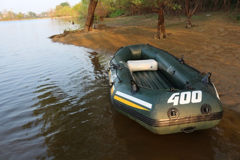 Inflatable Boat Air Cushion Camping Cushion Boat Seat For Inflatable Boat Fishing Boat Big Valve