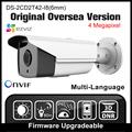 HIKVISION DS 2CD2T42WD I8 6mm Original English Version IP Camera 4MP IPC Onvif POE P2P H265