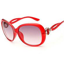 Oversized Vintage Round Female Sunglasses Women Brand Designer Retro Feminine Red Sun Glasses Women's Glasses Goggles