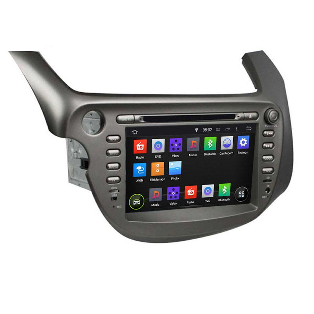 "8"" ROM 16G 1024*600 Quad Core Android 5.1.1 Fit HONDA FIT, JAZZ 2007 2008 - 2012 2013 Car DVD Player Navigation GPS TV Radio(China (Mainland))"