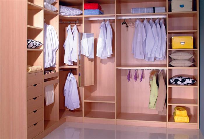 Buy l shape walk in closet wardrobe for Closets pequenos y funcionales