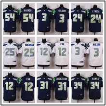 Seattle s Top quality For Mens Russell Wilson Fan Marshawn Lynch Richard Sherman Kam Chancellor Jimmy Graham camouflage(China (Mainland))