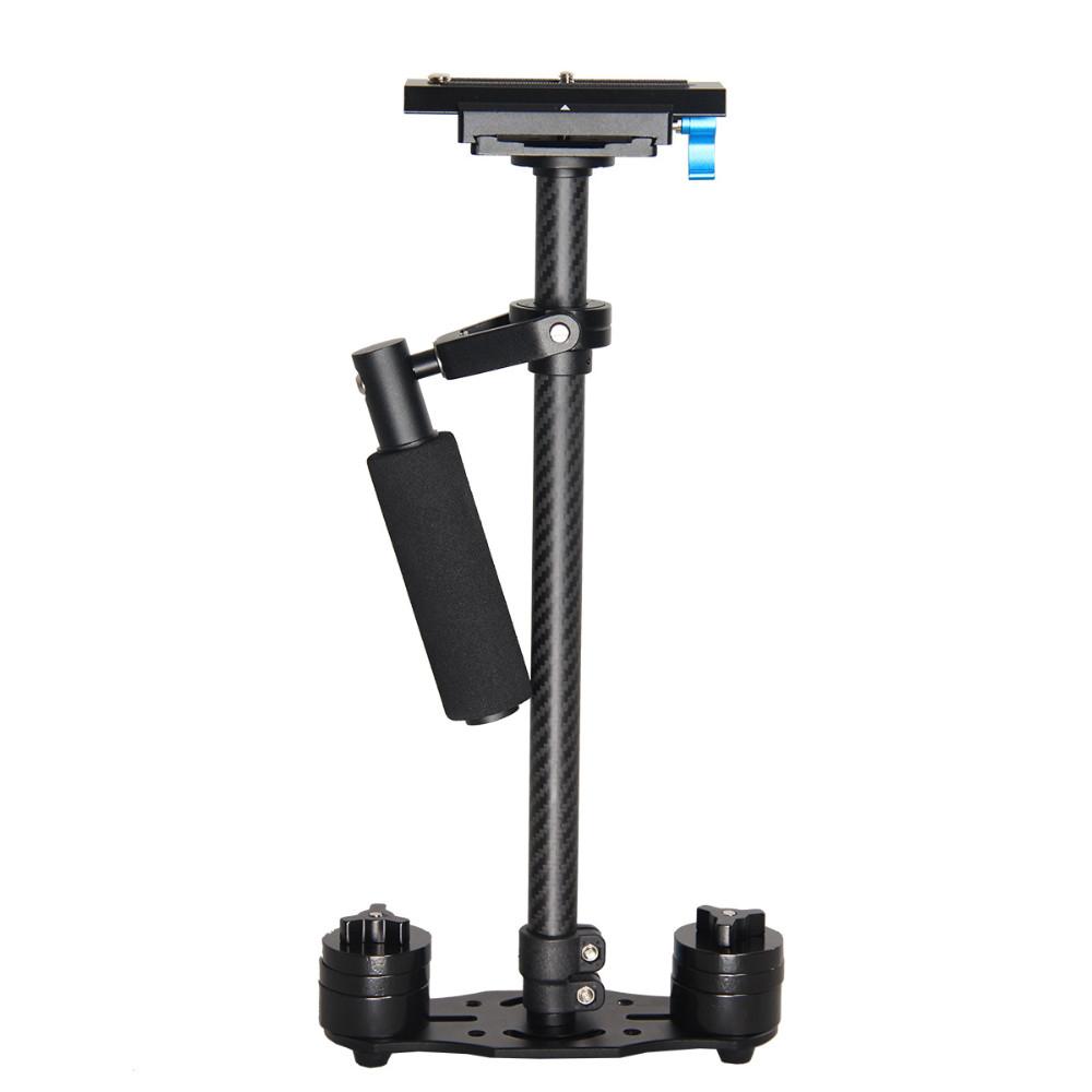 S60T Adjustable handheld 60cm Length DSLR dslr Video Camera Stabilizer Carbon fiber Steadicam+carry bag express shipping free