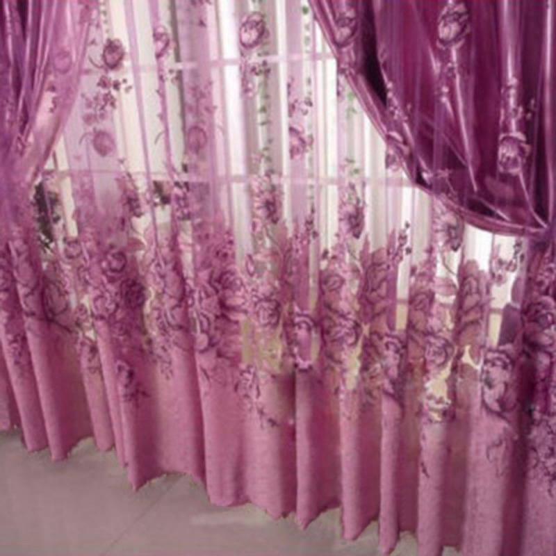 Curtain Window Valance European Lace Curtains Girls Bedroom Curtains ...