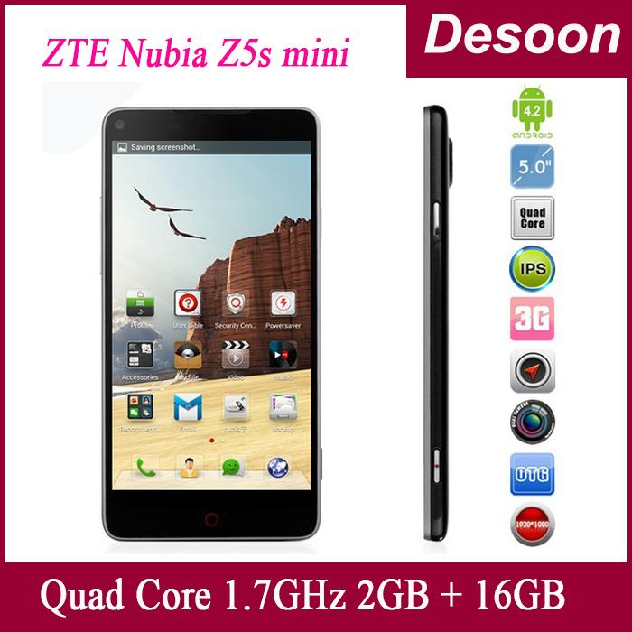 Мобильный телефон ZTE Z5S 4,7 2 16GB 1,7 android 1280 x 720 600 13.0mp WCDMA/Koccis ZTE nubia Z5s MINI мобильный телефон zte v5 v5 wcdma msm8926 android 4 4 5 hd 1280 x 720 1gb 2gb 4gb 8gb 13