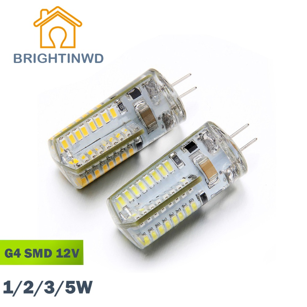 G4 Led lamp SMD 3014 DCAC 12V 1W2W3W5W mini lamp Blue Moon High Power 360 Beam Angle LED Bulb Lamps warranty Chandelier light(China (Mainland))