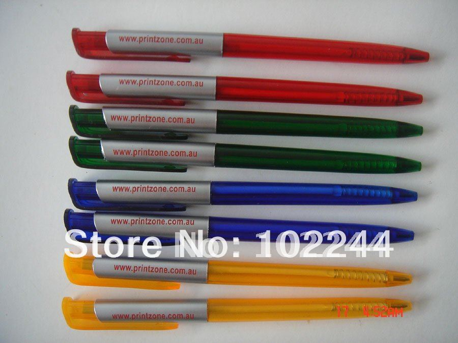 cheap price ball pen 1000pcs FREE SHIPPING by FedEx print customer logo<br><br>Aliexpress