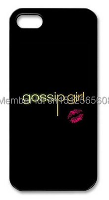 Popular Low Price Diy Famous American TV Series Gossip Girl Case for iPhone 4 4s 5c 5 5s i6 6plus Wholesale Fits(China (Mainland))