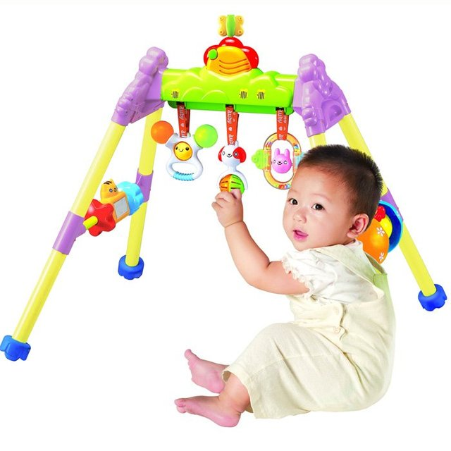 Exercise Equipment for children(elder than 3 months),with music player.Brand AUBY,famous in China.Best gift.FAST SHIPPING.