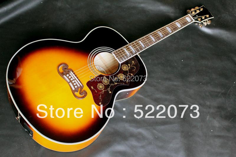 best china guitar Anniversary Acoustic OR Acoustic Electric Guitar OEM Musical Instruments(China (Mainland))
