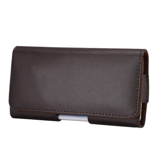 Luxury Genuine Leather Men Waist Bag Clip Belt Pouch Mobile Phone Holster cover Case For Samsung GALAXY NOTE3 N9000