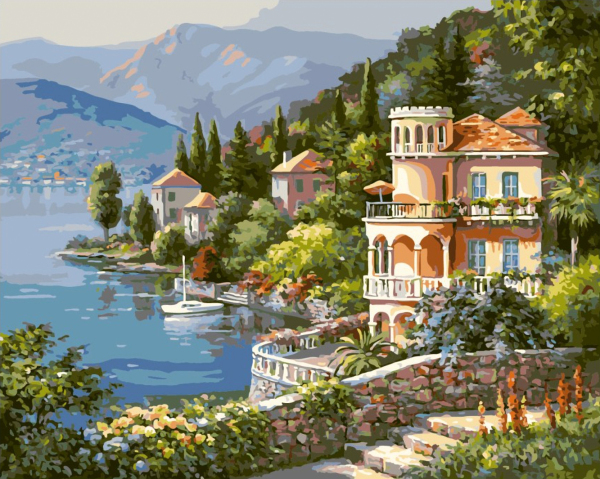 Seascape diy painting by numbers frameless pictures for Country living customer service number