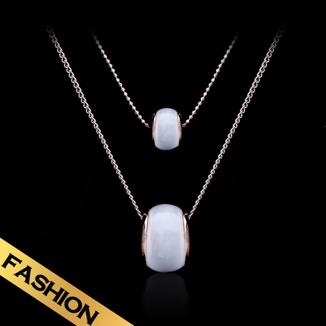 Special Long Necklaces Synthetic opal Fashion Classic Design Free Shipping Pendant Jewelry New Style XL13A08055