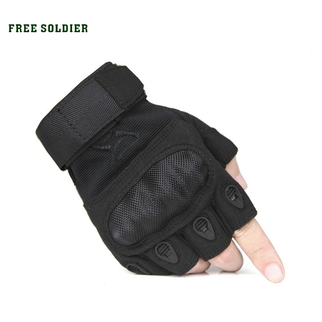 FREE SOLDIER Outdoor Sport gloves high quality Camping&hiking Bicycle gloves Full finger/Half Finger Cycling gloves