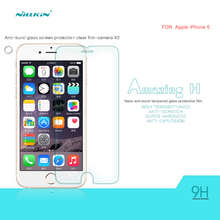 Nillkin 9H Amazing Anti-Explosion Tempered Glass Screen Protector For Apple iPhone 6 4.7 inch Free shipping