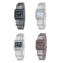 Wh310 personalidad óseas correa de reloj Digital de gran taladro QuartzLady de pulsera de cuarzo