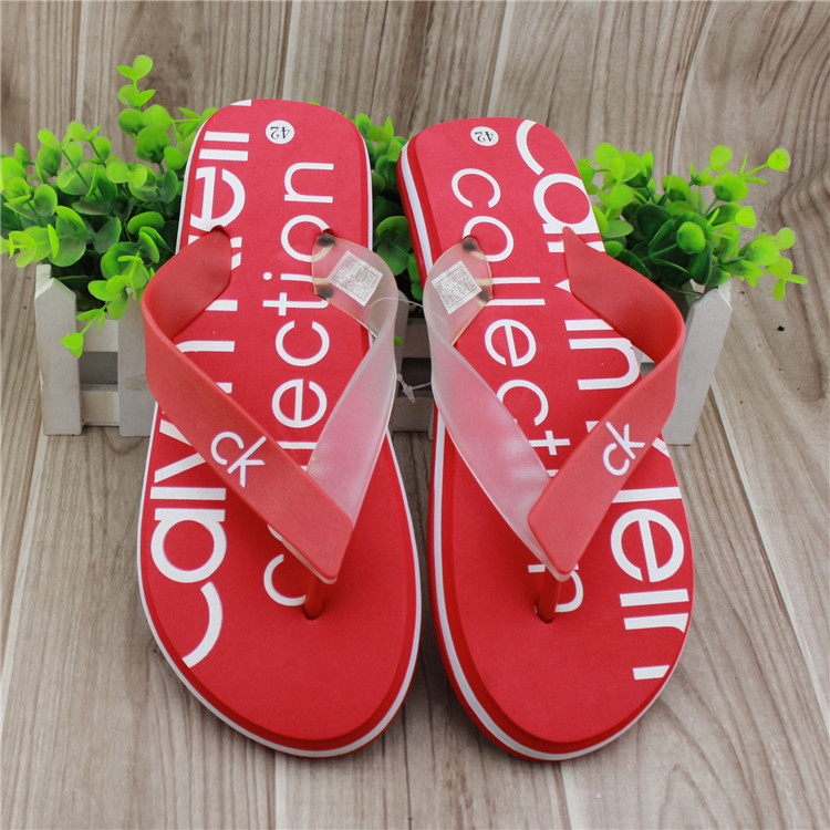 footwear flat valentine men's shoes waterproof rubber sandals pvc hombre slippers flip-flop sandals slip-resistant masculine(China (Mainland))