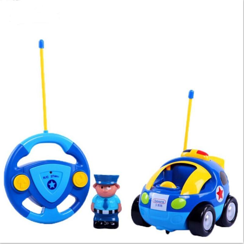 1Pcs High Quality Popular Toys Children's Cartoon Remote Control Car Race Car, Baby Toys Music Automotive Radio Control Cars(China (Mainland))