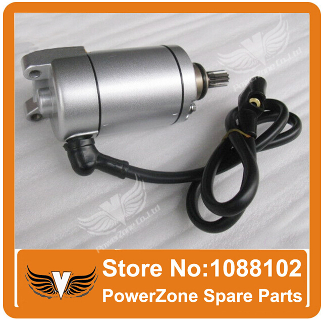 Zongshen CB250 250cc Water Cooled Engine Starting Motor Electric Starter Fit Dirt bike ATV,Motorcycle - PowerZone Co.,Ltd store