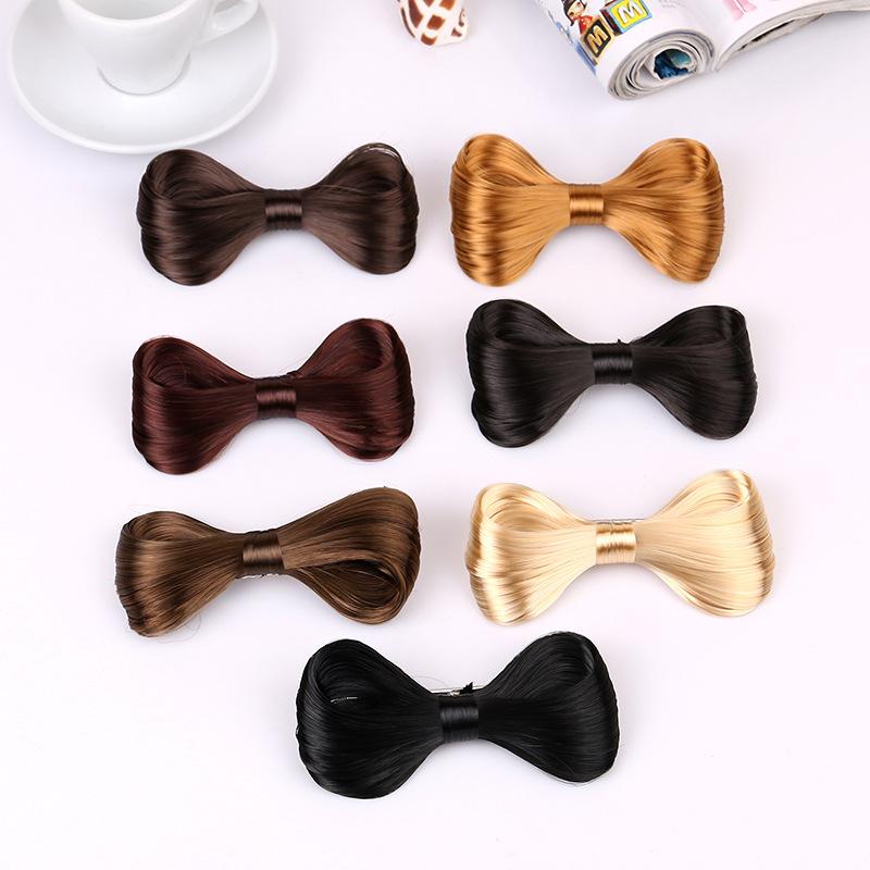 Ts New Fashion Big Bow Ties Wig Hairpin Hair Bow Clips