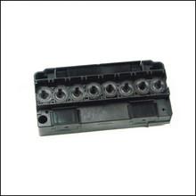 Dx5 solvant tête / tête d'impression collecteur / adaptateur / cap / cover pour dx5 tête couverture