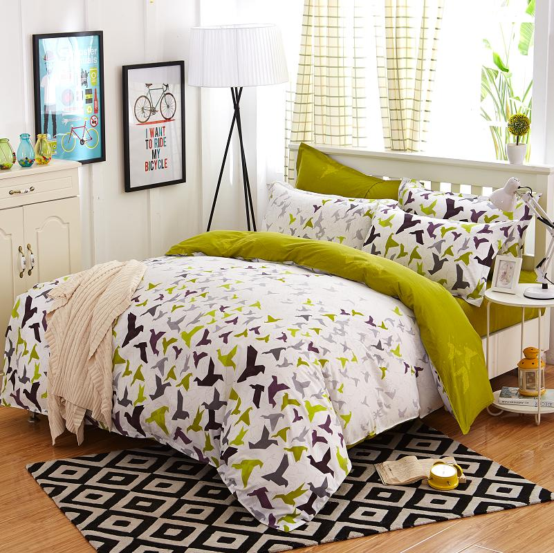 Hot Sale Bedding Duvet Cover Super Soft 4pcs Comforter Set without a Comforter Children Bedding Sets for Girls Twin Full Size(China (Mainland))