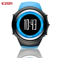 2016 GPS EZON Top Brand Running Sports Digital Watches Men Women Waterproof Clock Dual Time Wristwatch