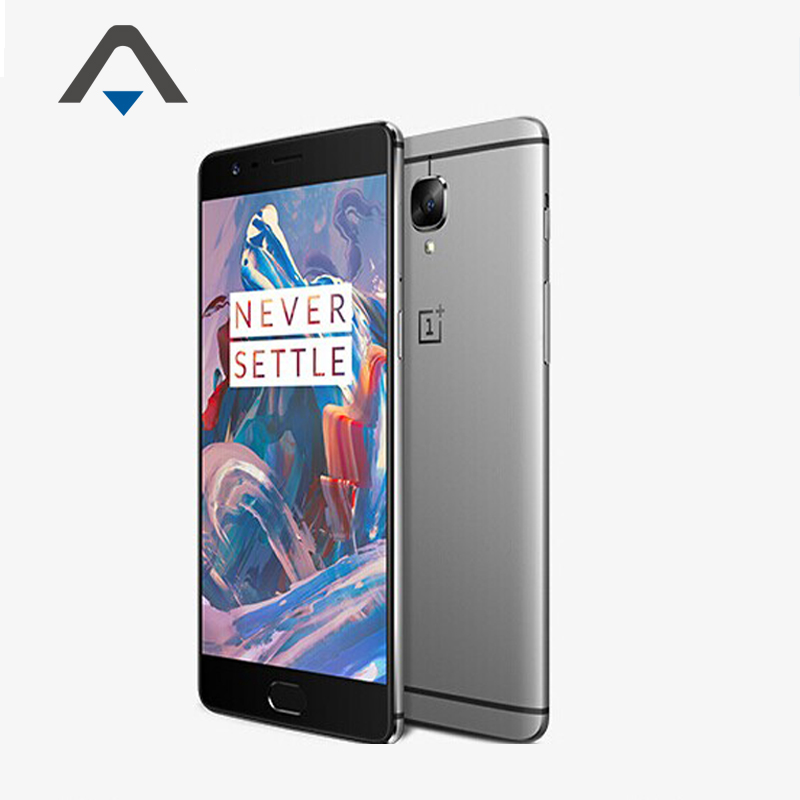 """Original Oneplus 3 Three LTE 4G SmartPhone 5.5"""" H2 OS Android6.0 Snapdragon 820 Quad Core 6GB RAM 64GB ROM 16MP Touch ID Stock(China (Mainland))"""