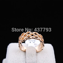 Wholesale New Jewelry 18K Gold Plated Unique Korean Design Knot Cross Finger Ring High Quality R413(China (Mainland))