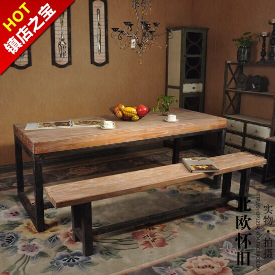 nordic ikea dining table retro to do the old long table ikea cafe restaurant table for six wood. Black Bedroom Furniture Sets. Home Design Ideas