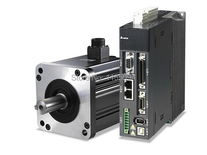 ECMA-E11315SS ASD-A2-1521-M Delta AC Servo Motor Drive kits 220V 1.5kW with 3M Cable<br><br>Aliexpress