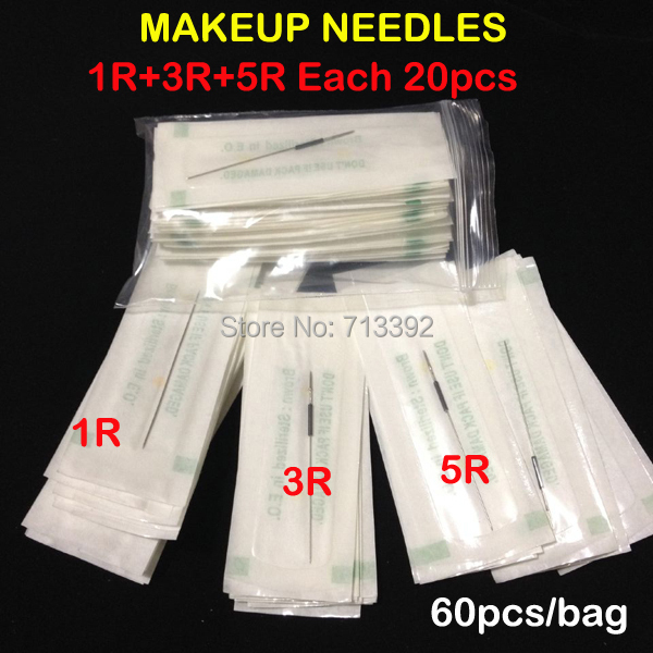 1R 3R 5R Eyebrow Needles Profession Sterilized Permanent Makeup Needles