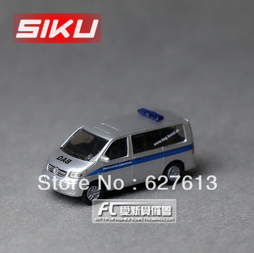 Wholesale!FREE SHIPPING!(10pieces) 100% Brand New car's model/Delicate toy car in a box vw t5 police car alloy car models toy