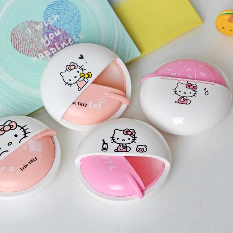 Hello Kitty In-Ear girls kids gift storage case stereo earphone for Iphone samsung MI earbuds mobile phone headphone(China (Mainland))