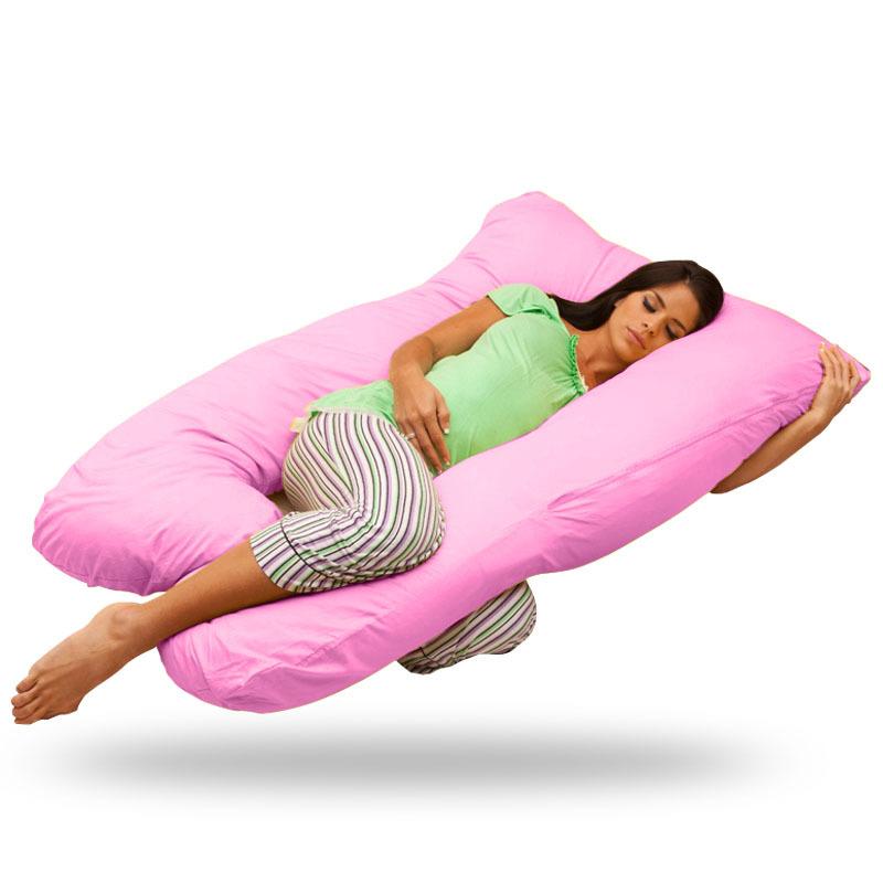 High Quality Cotton Pregnant Body Pillow U-Shape Body Pillow Waist Support Breastfeeding Pillow Nursing Assist(China (Mainland))