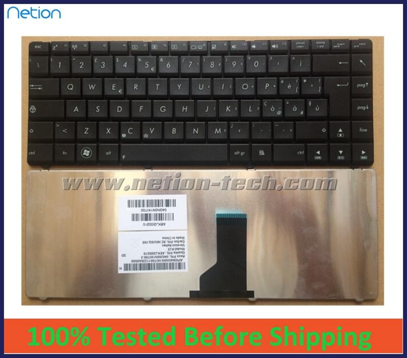 Brand new original keyboard Asus X42S N43S X44H X45V X84H A83S X43sj X85V IT Italy version layout Black - ShenZhen Global Parts Co., Ltd store