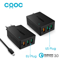 CRDC USB Charger Quick Charge 3 0 Fast Wall Charger Smart IC QC 2 0 Compatible