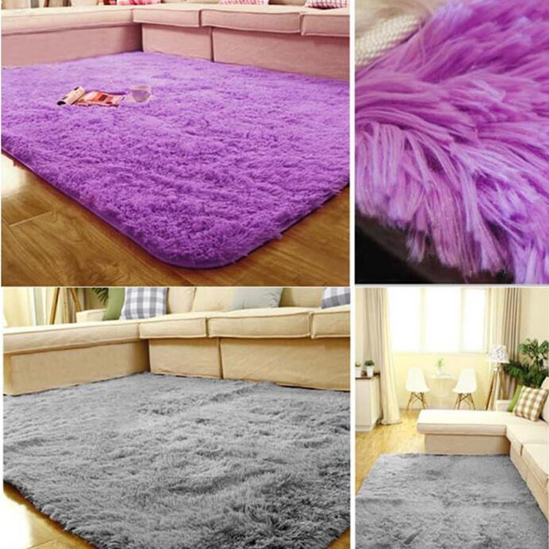 200 300cm fur large floor rug thick super soft