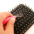My House Brand High Quality Hair Brush Comb Cleaner Embedded Tool Plastic Cleaning Removable Handle Free