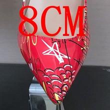 8/10/12 CM Điểm Toe Cao Gót Womens Bơm Nền Tảng Sexy Cao Gót Giày Phụ Nữ Cưới Gót siêu Cao Party Sandals N(China)
