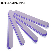 5 Piece Purple Nail Art Styling tools Sanding Tips Decoration Nails Files Buffer Buffing For Salon Manicure UV Gel Polish Tool(China (Mainland))