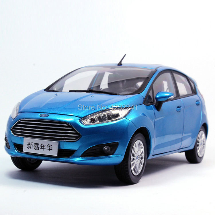 1 pcs/lot Details 1:18 Scale High quality China FORD FIESTA 2013 Die Cast Alloy Car Model(Blue) mode car Toys Gift for Children(China (Mainland))