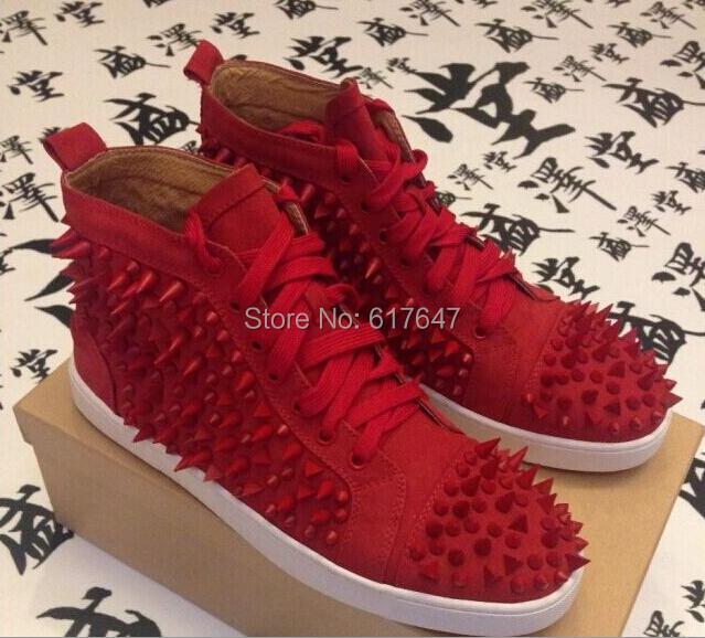red bottom sneakers for men