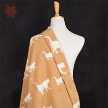 Белый черный верблюд с тигром жаккардовые кашемир, шерсть вязаная ткань для зимнее пальто шерстяные куски ткани tecidos stoffen SP4443(China)