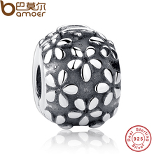Buy Flower Figures New Year Gift Charms Fit Original Bracelet necklace 925 Sterling Silver Beads Jewelry Making PAS143 for $7.73 in AliExpress store