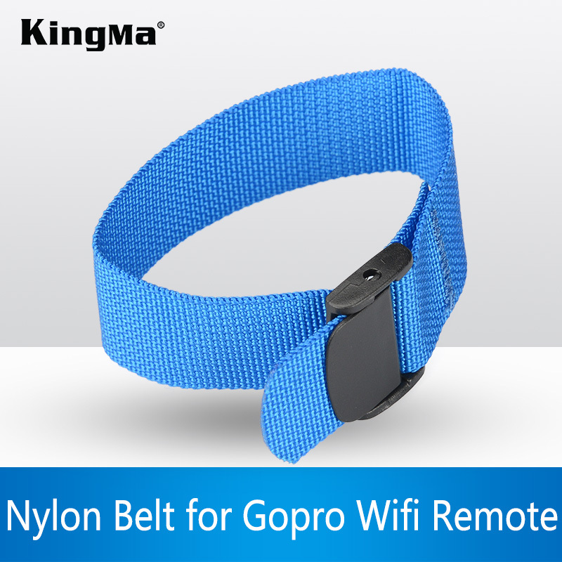KingMa gopro Camera Accessories Wrist strap buckle trial Nylon Belt for Gopro Hero 4 3+ 3 2 Wifi Remote Sport Camera SJ4000(China (Mainland))