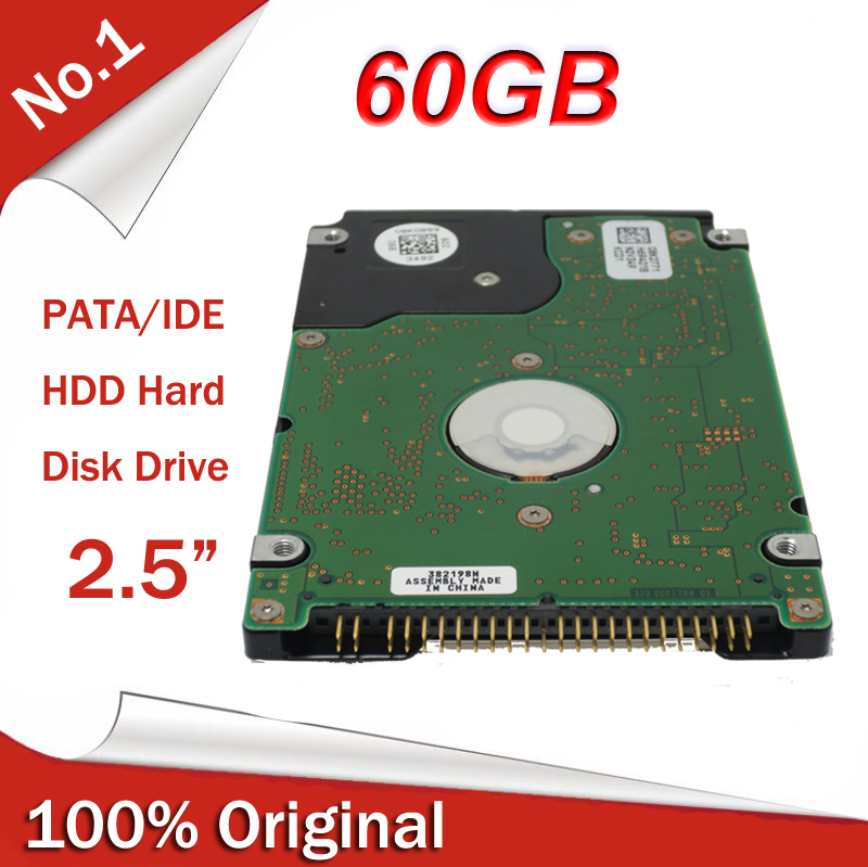 """All New 2.5"""" HDD IDE PATA 60GB Internal Hard Disk Drive HDD for old laptop notebook Free Shipping(China (Mainland))"""